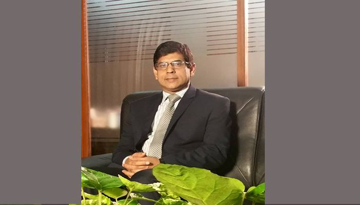 Md. Mukter Hossain Talukder, new CEO of MI Cement. Photo: Collected from Facebook
