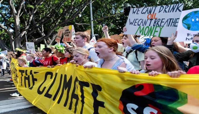 Students kick off global climate strike
