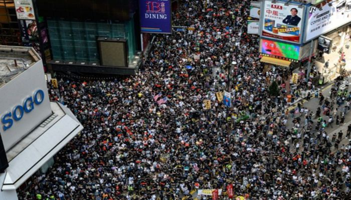 HK families divided over protests