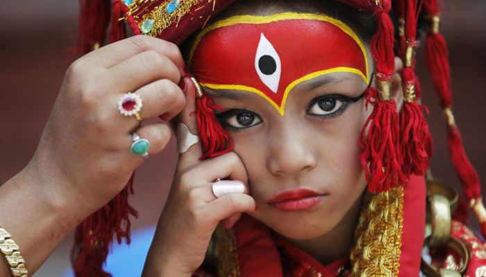 Nepal festival season starts with goddess, dance