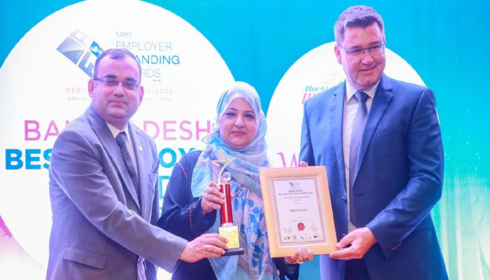 PRAN-RFL Group bags Best Employer Brand Award