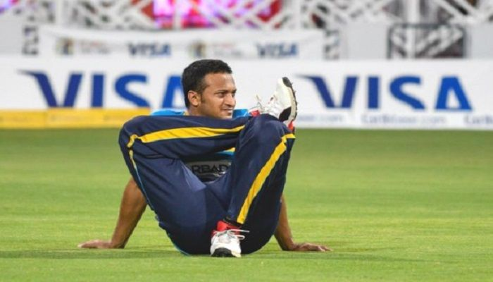 Shakib Al Hasan. Photo: Twitter