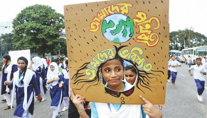 Youths strike for planet