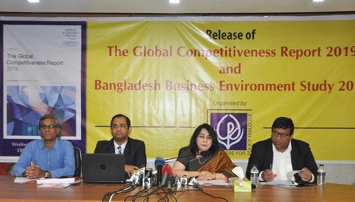 Bangladesh slips to 105 in economic competitiveness ranking