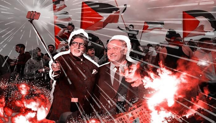 Bollywood has been wooed by Israel, with tax breaks, film funding and Benjamin Netanyahu's visit to Mumbai in 2018