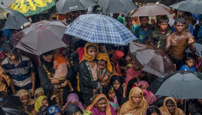 Bangladesh is currently hosting more than 1.1 million Rohingyas. Photo: Collected