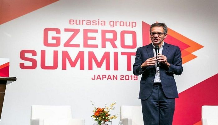 Geopolitical expert Ian Bremmer said at the G-Zero summit in Tokyo yesterday that what the world should want is for both the US and China to succeed economically and play constructive roles globally. Photo: The Straits Times
