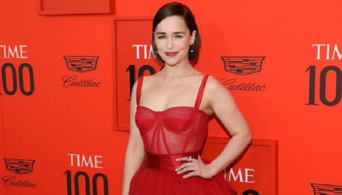"Emilia says her attitude to nudity is ""very different"" now"