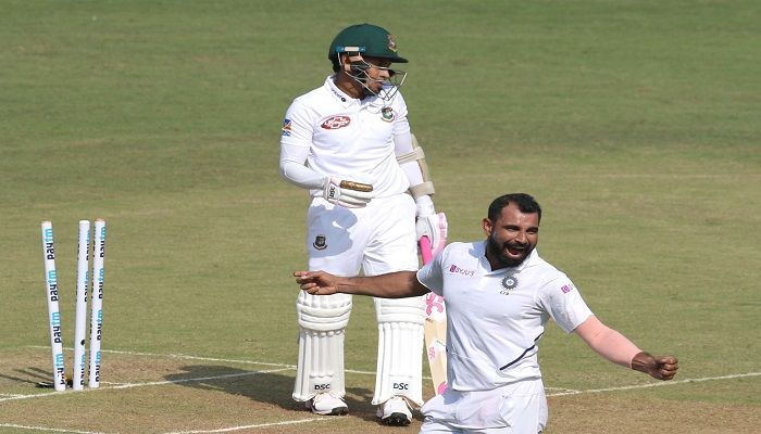 Seamers rule as Bangladesh bowled out for 150