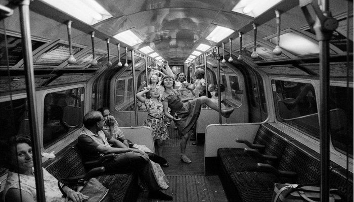 Northern Line, 1974. Photo: Mike Goldwater