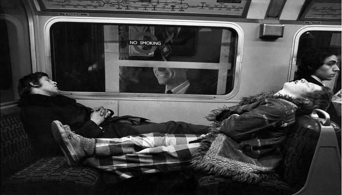 Northern Line, 1975. Photo: Mike Goldwater