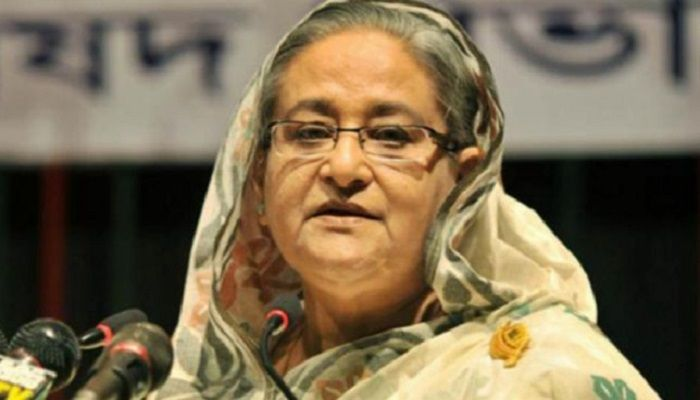File photo: Prime Minister Sheikh Hasina