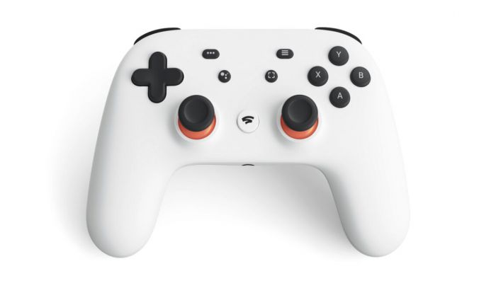 This undated photo provided by Google shows a controller that is part of a video-game streaming platform called Stadia that Google is launching on Tuesday, Nov. 19, 2019. Photo: AP