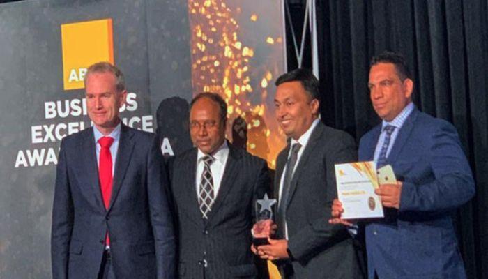 PRAN wins ABBC award in Australia