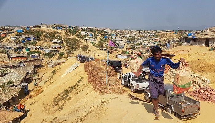Rohingya camps south of Cox's Bazar in southeast Bangladesh that now make up the world's largest refugee settlement, home to more than 900,000 people. Balukhali camp, Bangladesh, Jan 28,2019. Photo: REUTERS