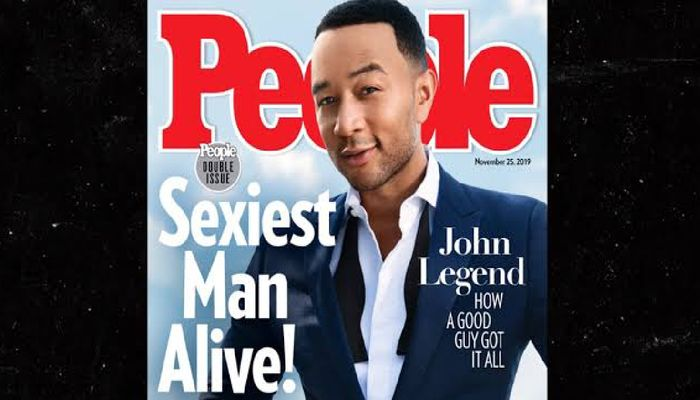 John Legend named Sexiest Man Alive