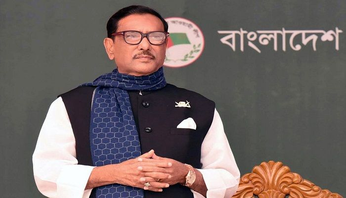 File photo: Awami League General Secretary and Road Transport and Bridges Minister Obaidul Quader
