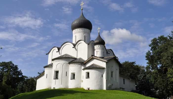 Churches of the Pskov School of Architecture, Russian Federation: A group of churches and other religious buildings located in the historic city of Pskov make up this site. The structures are characteristic of the Pskov School of Architecture.