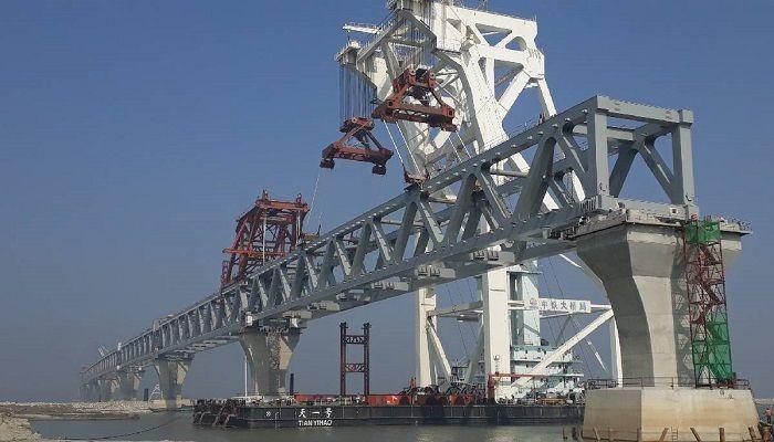 3km of Padma Bridge Visible