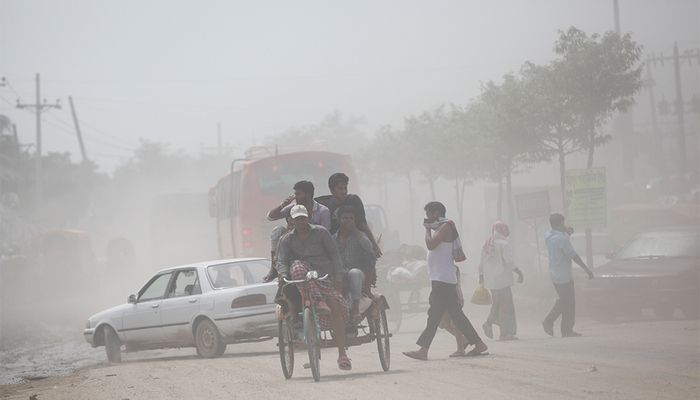 Air Pollution in Dhaka 2019-20 in Pictures