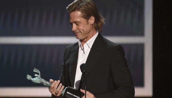 Brad Pitt and Jennifer Aniston Win SAG Awards