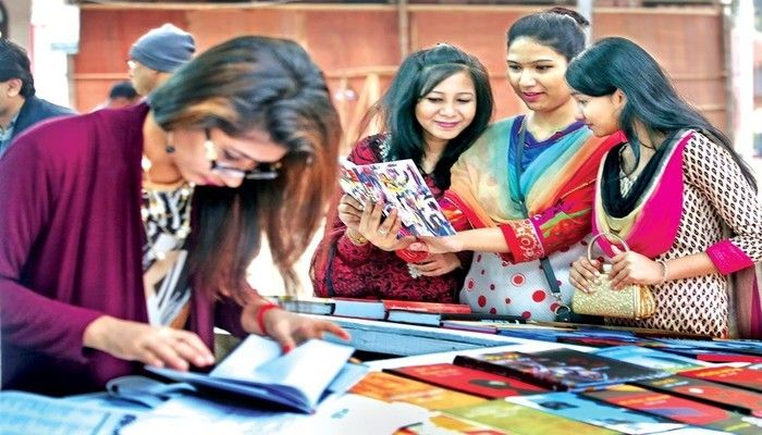 Ekushey Book Fair - a Place for Youths' Gathering
