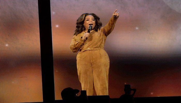 Winfrey Holds TV Discussion on 'American Dirt'
