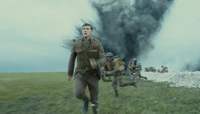 """War epic """"1917,"""" the First World War drama by British director Sam Mendes (Oscar-winning director of """"Skyfall,"""" """"Spectre"""" and """"American Beauty"""") is closely trailing """"Joker"""" with 10 nominations. The epic about the impossible mission of two English soldiers on the battlefields in northern France recently won big at the BAFTA British film awards, including best film."""