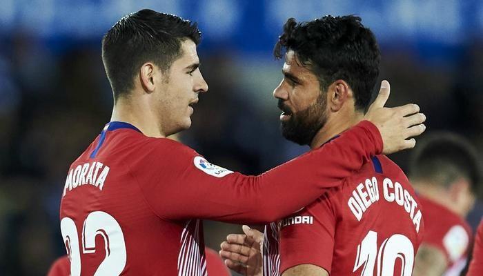 Atlético Gets Morata & Costa Back for UCL