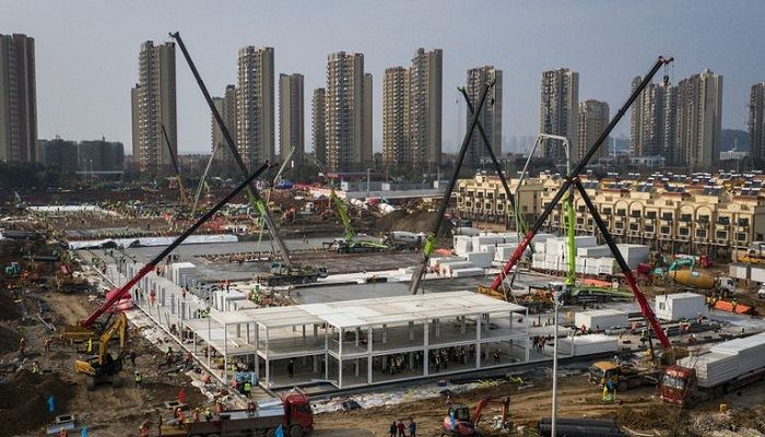 China Builds Hospital in 10 Days