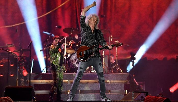 Queen Reprise Live Aid Set at Bushfire Concert