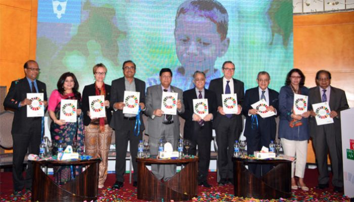 First Ever 'SDG Report' Launched in Bangladesh