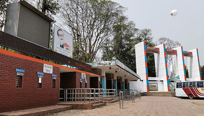 National Zoo has been closed in Mirpur, Dhaka since last Friday to prevent the spread of coronavirus. Photo: Star Mail