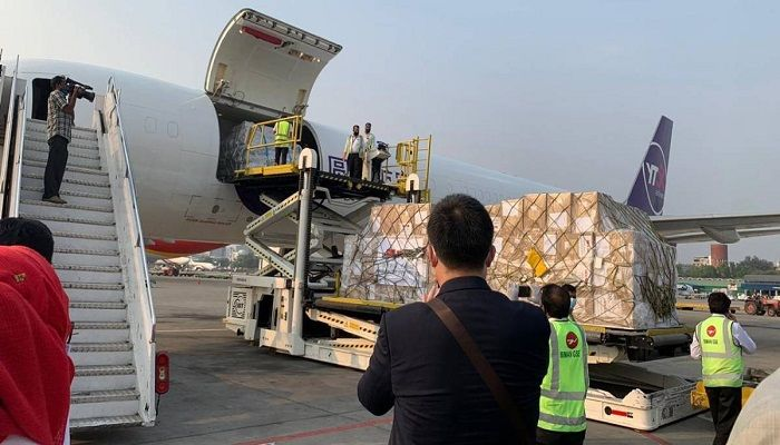 2nd Batch of Chinese Medical Supplies Arrive