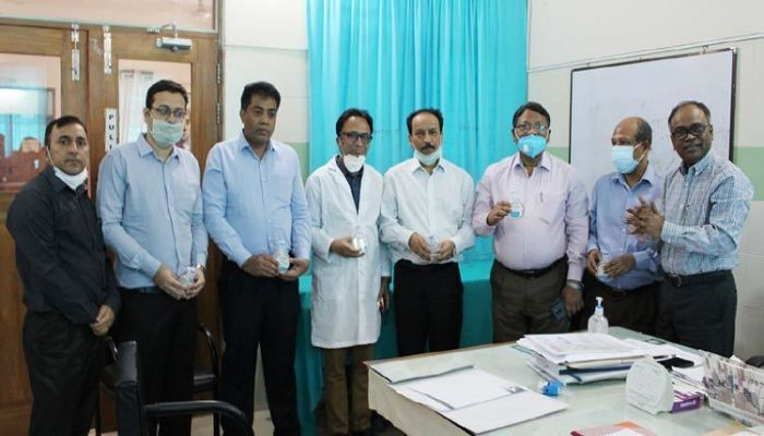 PRAN-RFL Group Gives Surgical Masks And Hand Sanitizers to 3 Hospitals