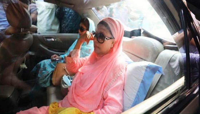Khaleda Walks Free from Jail after 775 Days