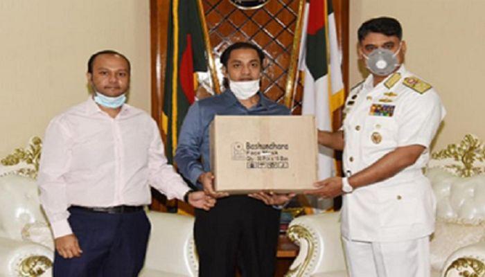 Bashundhara Group Provide Masks, PPE to Navy