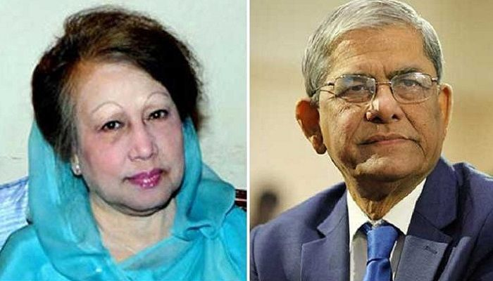 Mirza Fakhrul Meets Khaleda at Last