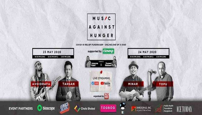 'Music Against Hunger': The Charity Concert