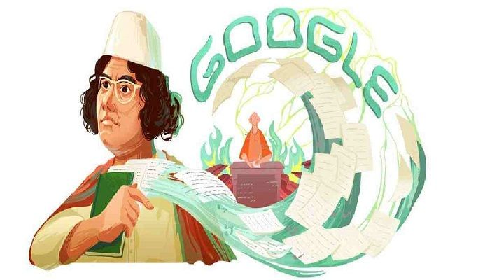 Google Doodle Celebrates Nazrul's 121st Birthday