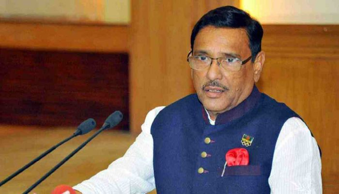 Talking Is the Only Thing BNP Does: Quader
