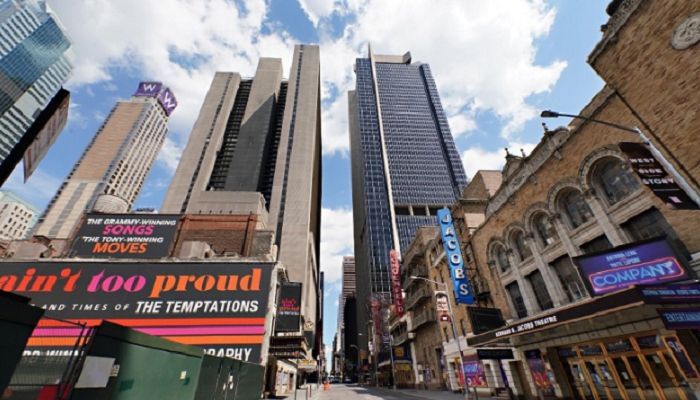 New York's Broadway Closed until January