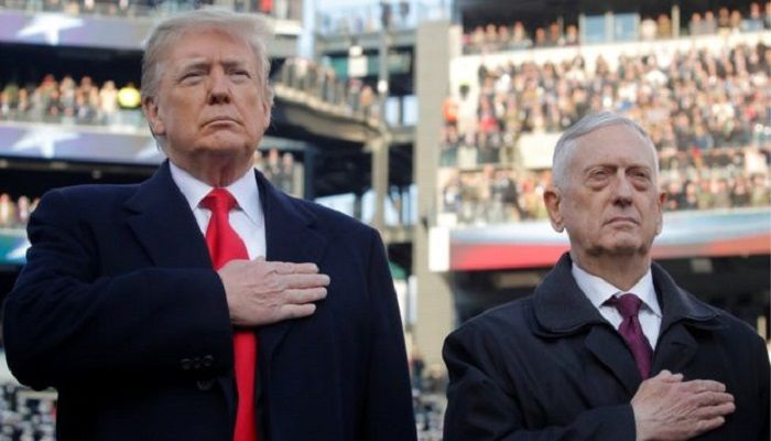 Ex-US Defense Secretary Denounces Trump