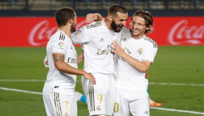 Madrid Go Top Edging Out Real Sociedad