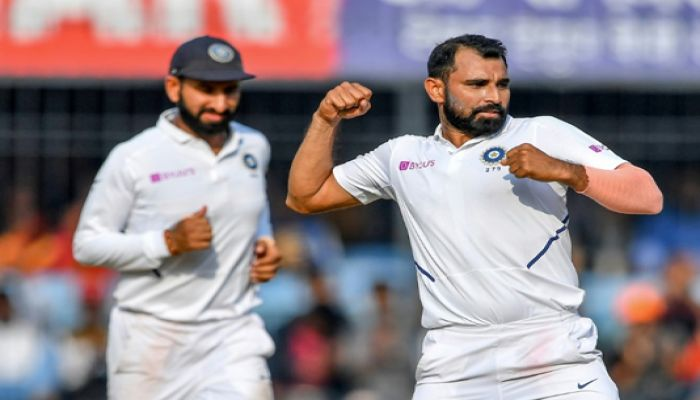 India's Pace Attack 'the Best' in History, Says Shami