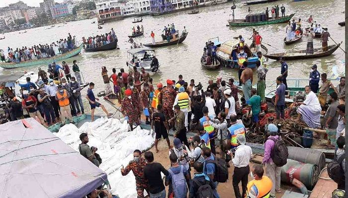 Buriganga Launch Capsize Accused Put on Remand