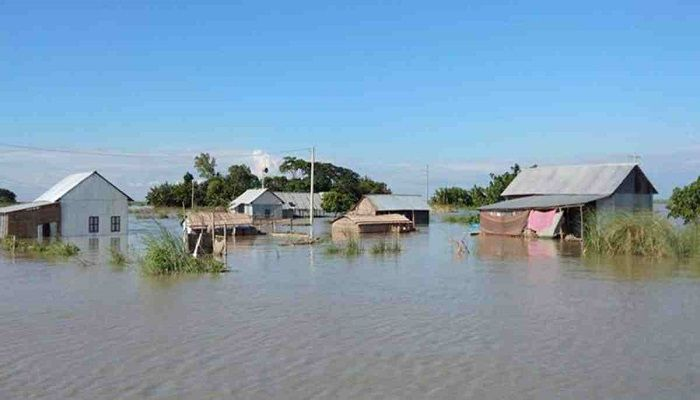 Floods Lead Country into 2-Front War