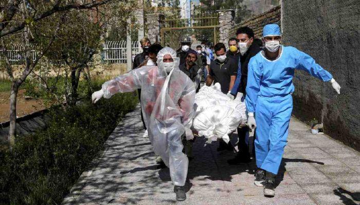 Iran's Covid-19 Cases Top 240,000