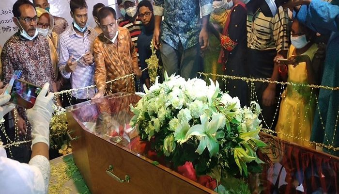 Andrew Kishore Buried beside his Mother
