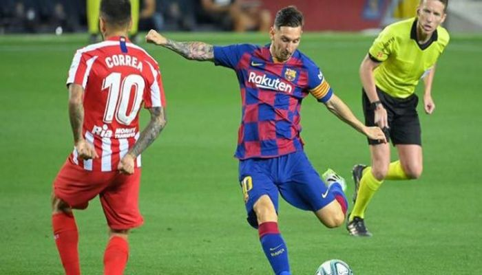 Messi Joins Ronaldo in 700-Club with Barcelona Goal vs Atletico